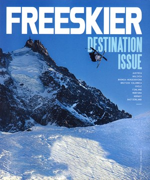 Freeskier Magazine | 1/2020 Cover