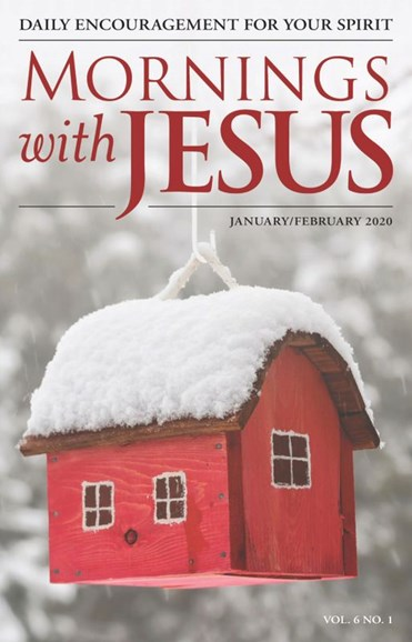 Mornings with Jesus Cover - 1/1/2020