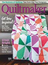 Quiltmaker | 1/2020 Cover
