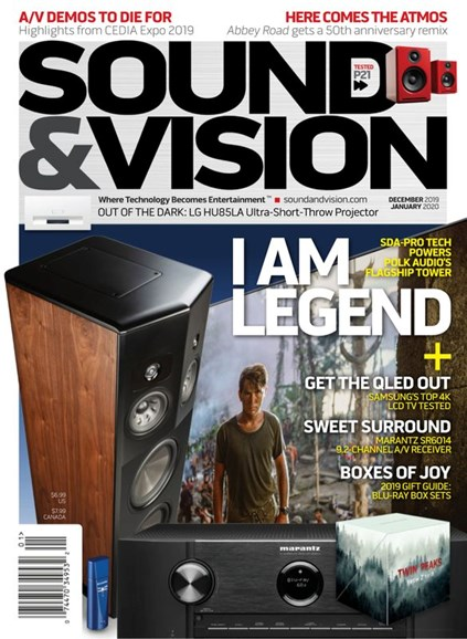Sound & Vision Cover - 12/1/2019