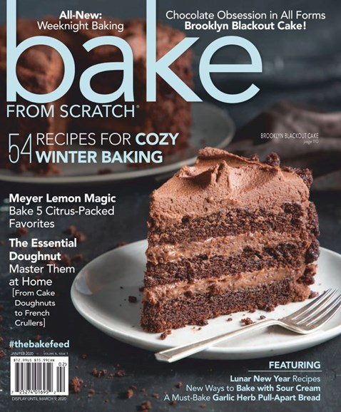 Bake From Scratch Cover - 1/1/2020