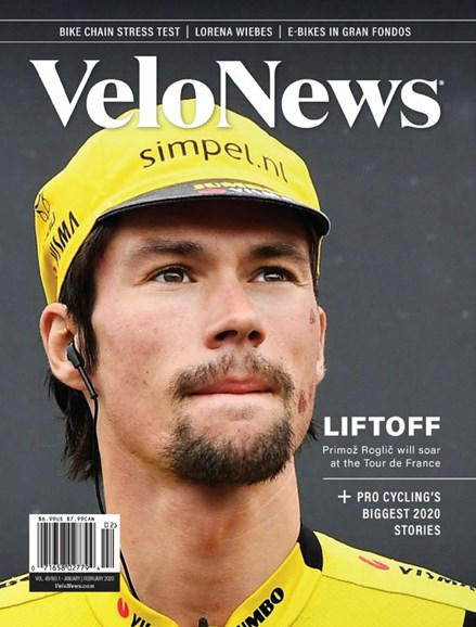 VeloNews Cover - 1/1/2020
