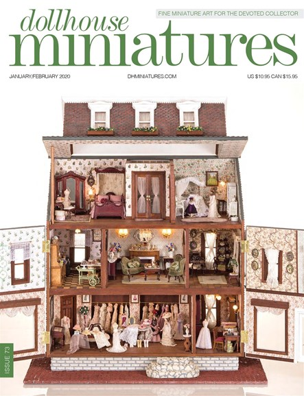 Dollhouse Miniatures Cover - 1/1/2020