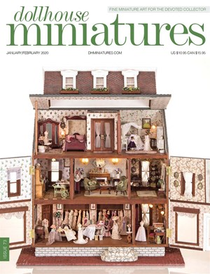 Dollhouse Miniatures | 1/2020 Cover