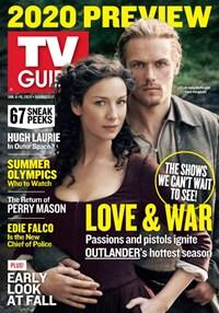 TV Guide Magazine   1/6/2020 Cover
