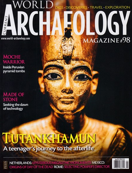 Current World Archaeology Cover - 12/1/2019