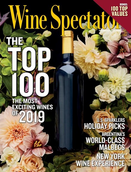 Wine Spectator Cover - 12/31/2019