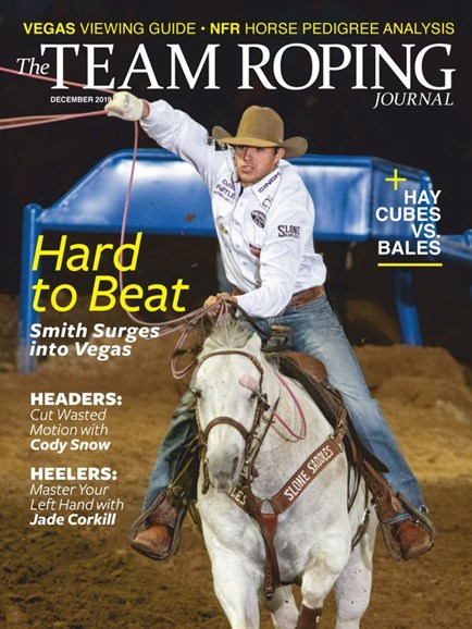 The Team Roping Journal Cover - 12/1/2019