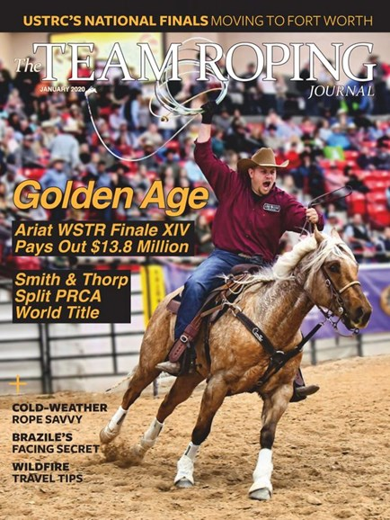 The Team Roping Journal Cover - 1/1/2020