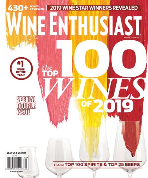 Wine Enthusiast Cover - 1/1/2020