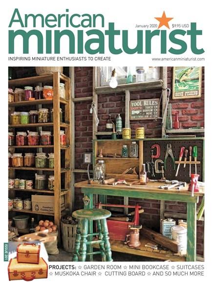 American Miniaturist Cover - 1/1/2020