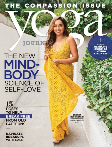 Yoga Journal Cover - 1/1/2020