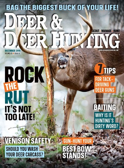 Deer & Deer Hunting Cover - 12/1/2019