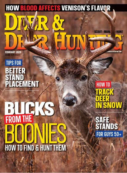 Deer & Deer Hunting Cover - 2/1/2020