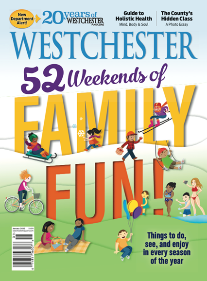Westchester Magazine Cover - 1/1/2020