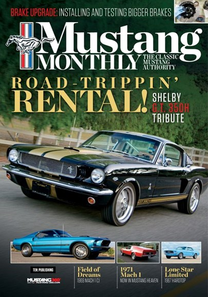 Mustang Monthly Cover - 1/1/2020