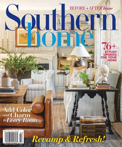 Southern Home Cover - 1/1/2020