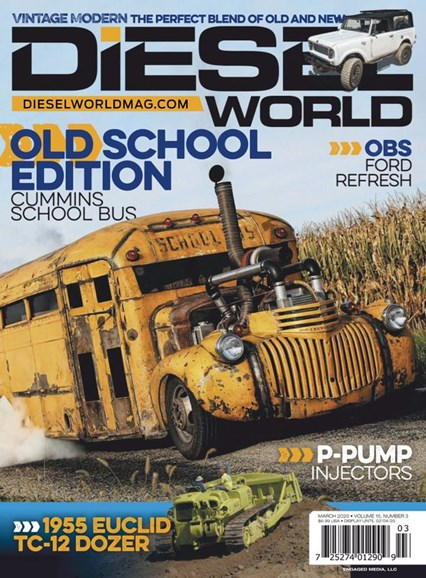 Diesel World Cover - 3/1/2020