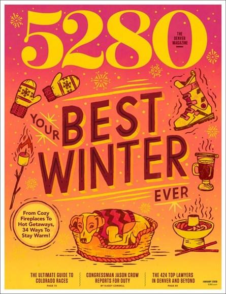 5280 Magazine Cover - 1/1/2020