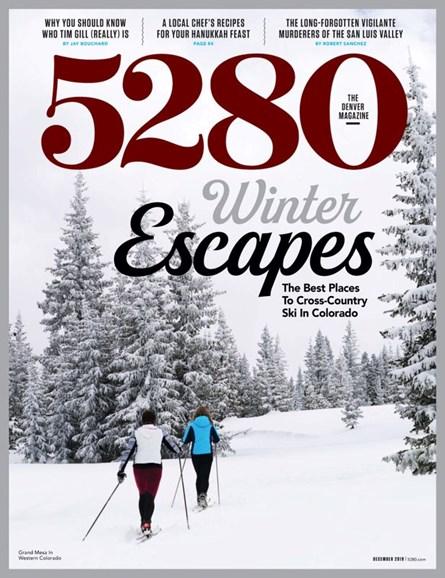 5280 Magazine Cover - 12/1/2019
