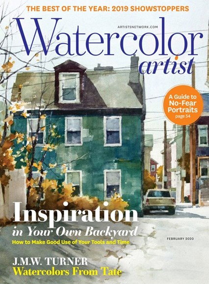 Watercolor Artist Cover - 2/1/2020