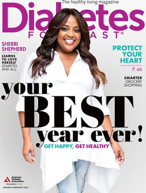 Diabetes Forecast Magazine | 1/2020 Cover