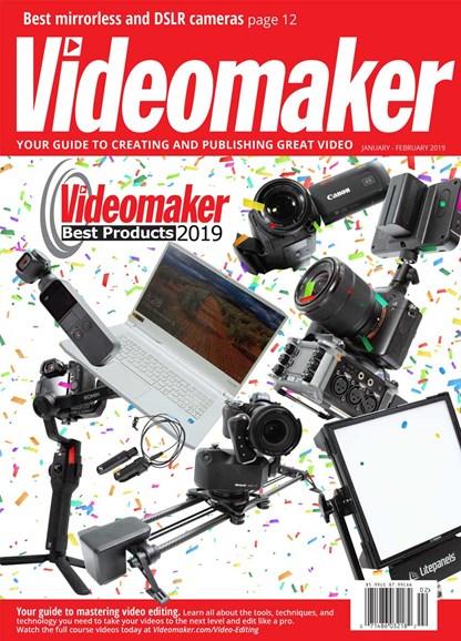 Videomaker Cover - 1/1/2020