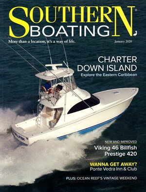 Southern Boating Magazine | 1/2020 Cover