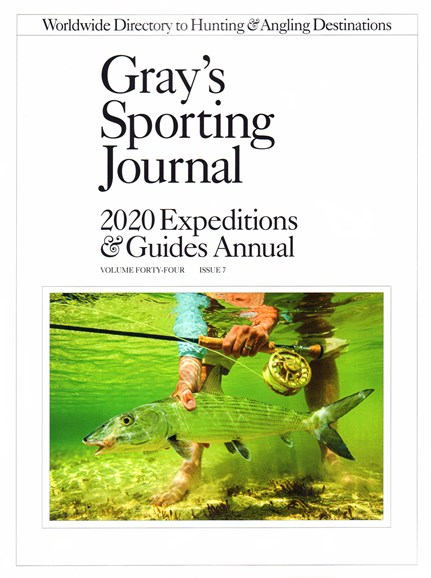 Gray's Sporting Journal Cover - 1/1/2020