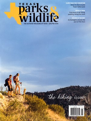Texas Parks & Wildlife Magazine | 1/2020 Cover