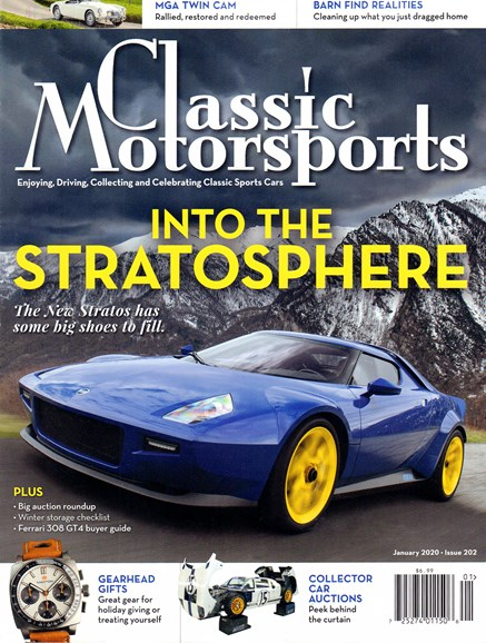 Classic Motorsports Cover - 1/1/2020