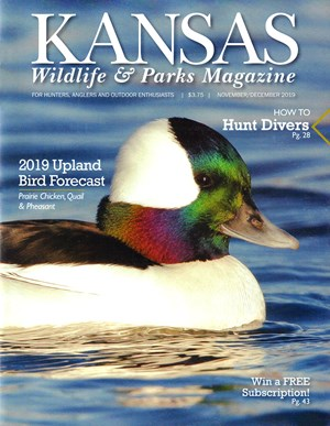 Kansas Wildlife & Parks Magazine | 11/2019 Cover