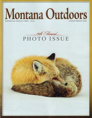 Montana Outdoors Magazine | 1/2020 Cover