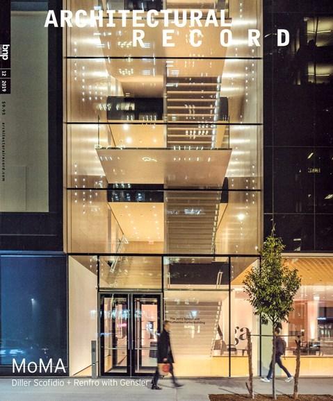 Architectural Record Cover - 12/1/2019