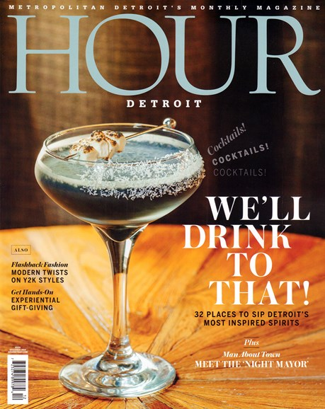 Hour Detroit Cover - 12/1/2019