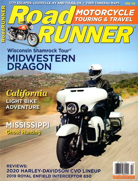 Road RUNNER Motorcycle & Touring Cover - 2/1/2020