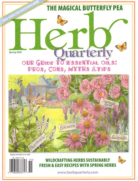 Herb Quarterly Cover - 3/1/2020