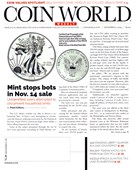 Coin World Magazine 12/9/2019