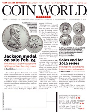 Coin World Magazine | 1/20/2020 Cover