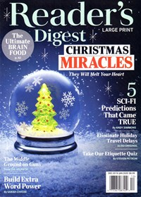 Reader's Digest Large Print | 12/2019 Cover
