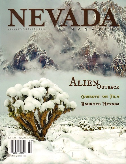 Nevada Magazine Cover - 1/1/2020