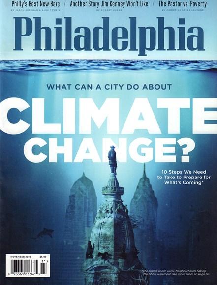 Philadelphia Magazine Cover - 11/1/2019
