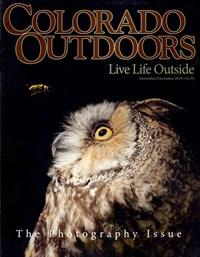 Colorado Outdoors Magazine   11/2019 Cover
