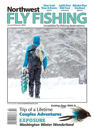 Northwest Fly Fishing Magazine | 1/2020 Cover
