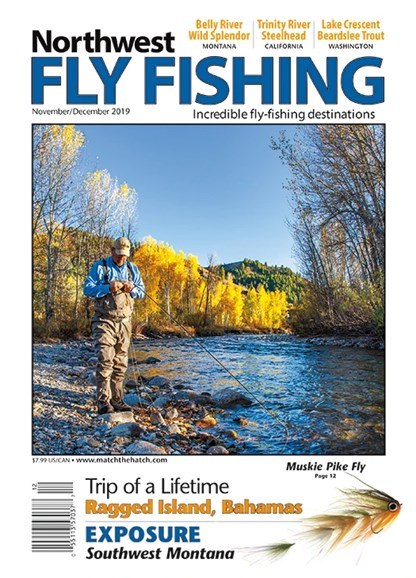 Northwest Fly Fishing Cover - 11/1/2019