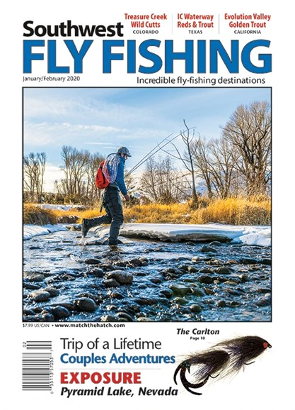 Southwest Fly Fishing Cover - 1/1/2020