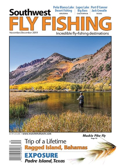 Southwest Fly Fishing Cover - 11/1/2019