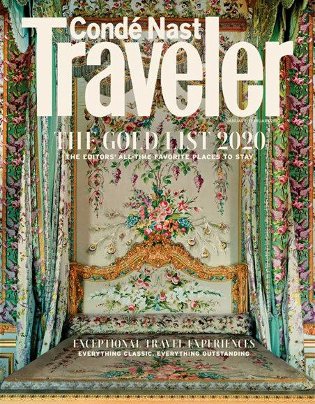 Condé Nast Traveler Cover - 1/1/2020