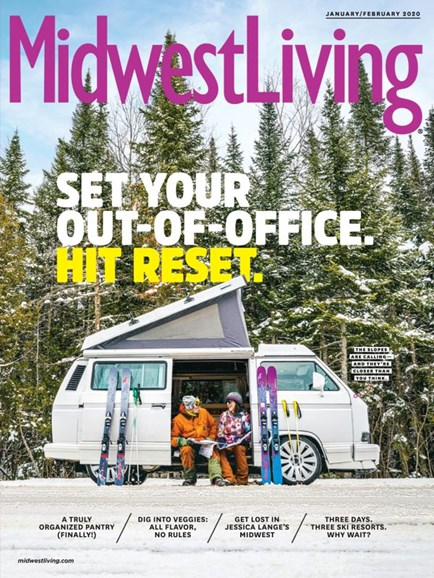 Midwest Living Cover - 1/1/2020