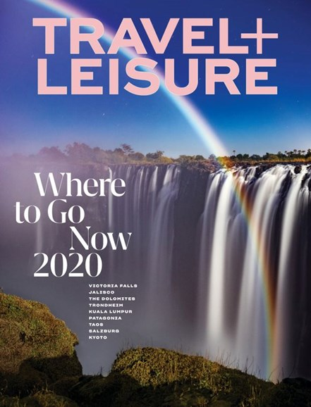 Travel + Leisure Cover - 1/1/2020